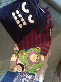 6-7 years Boys clothing bundle t-shirts