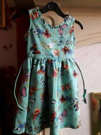 2 Girls Lindy Bop Dresses age 3-4yrs