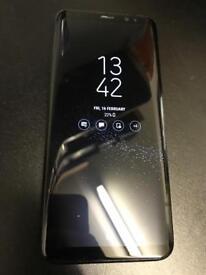 Samsung Galaxy S8 64gb Unlocked!! Midnight Black + Warranty