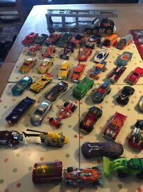 40 hot wheels one truck all in very good condition