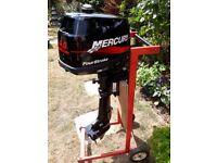 Murcury 4.0 four stroke outboard