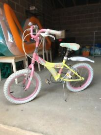 Girls Miss Raleigh 16 Inch Bike