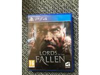 PS 4 game Lords of the Fallen