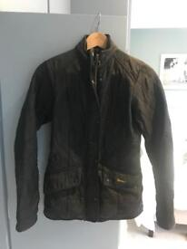 Ladies Barbour Coat Jacket - Size 8 - Black