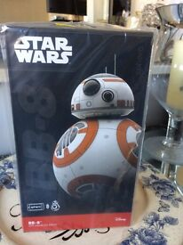New and Sealed: STAR WARS BB8 app-enabled Droid by Sphero
