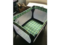 Mothercare Travel Cot in excellent condition