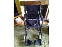 pharemore Lightweight Transit Wheelchair
