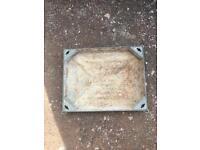 Reassessed manhole cover block paving