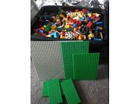 Box full of Lego