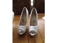 Next bridal shoes, size 4.5, excellent condition
