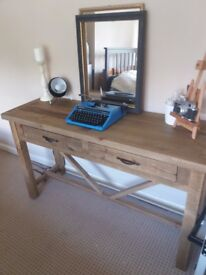 Solid Wood Console / Hall Table Rustic Style - EX Display