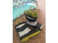 Next kids Wellington boots size 4 (20)