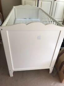 **Gone**Ikea baby cot and mattress