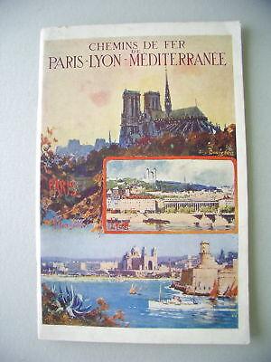 Paris - Lyon Mittelmeerbahn um 1900