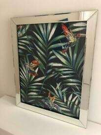 Bevelled Glass Picture Frame
