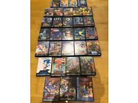 MEGADRIVE GAMES JOB LOT OF 31 GAMES IN BRAND NEW COLLECTIBLE CONDITION!