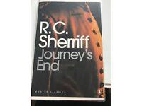 R. C. Sherriff Journey's End, used for sale  Islington, London