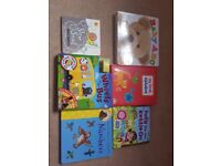 Collection of children's books including Gruffalo numbers, first alphabet and interactive books
