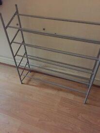 2 dunelm shoe racks in ex Ellen's condition