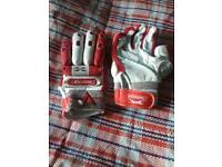 Slazenger batting gloves