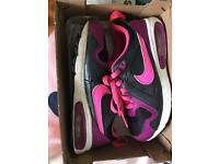 Girls Nike air trainers