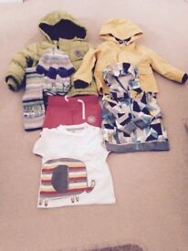 Boys Clothes 6-18 months