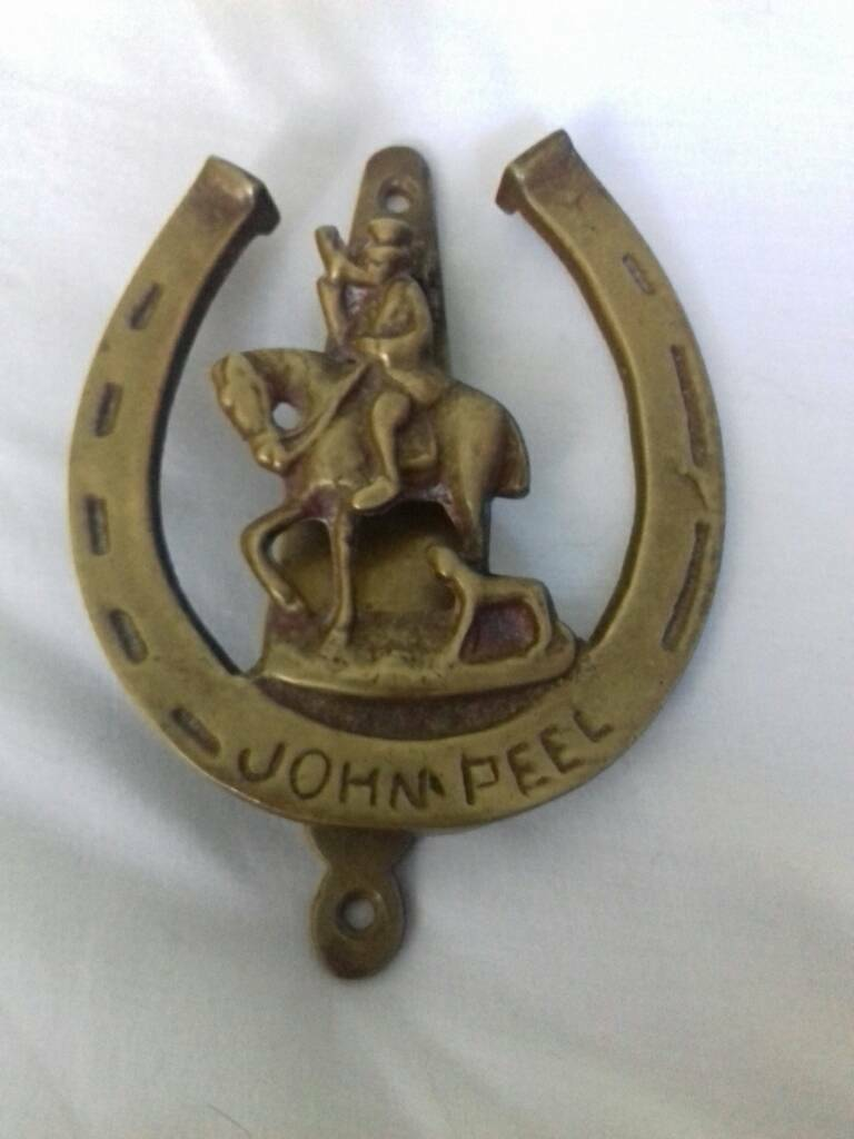 Jonh peel door knocker