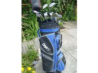 Collection of Dunlop clubs + accessories