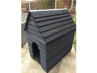 Dog kennel, hand made, double skinned,