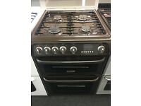 CANNON 60CM ALL GAS COOKER IN BROWN WITH LID