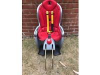Bicycle child seat, used