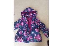 Age 4/5 girls padded coat