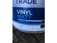 Dulux trade vinyl paint- new, complete with seal