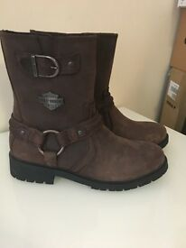 Harley Davidson abner riding boots
