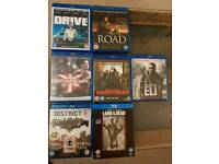 Blu-Ray Bundle 7 discs - Excellent condition
