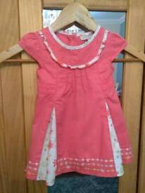 John Rocha Little Rocha Girls Dress 6/9months