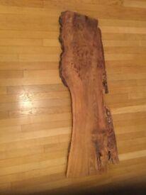 Stunning Yew Wood Plank