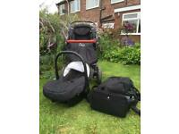 Pushchair and accessories