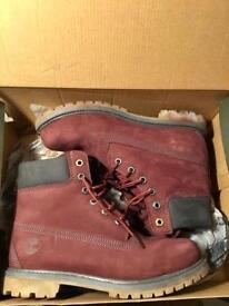 *NEW* Timberland Women's 6-inch Premium Boots (Dark Port)