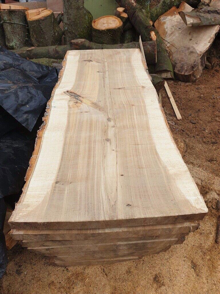 poplar rainbow wooden live timber slabs | in Laurencekirk, Aberdeenshire |  Gumtree