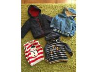 12-18 months boys coats and jumpers