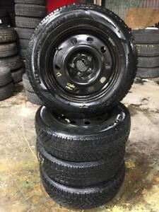 225 65R 17 GOODYEAR ULTRA GRIP WINTER SNOW TIRES & RIMS 5X127 BOLT DODGE GRAND CARAVAN DODGE JOURNEY GREAT CONDITION