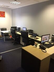Office Let - 3 min walk from St Albans City Station - Fully furnished with 24 hour secure access