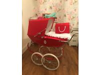 Silver Cross Dolls Pram- perfect condition good as new