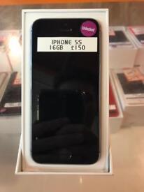 iPhone 5s, 16gb, unlocked, silver