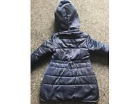 Girls Billie Blush Coat