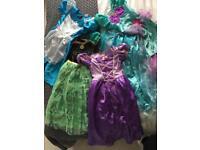 Girls dressing up costumes bundle