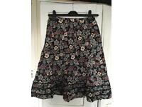 Warehouse floral skirt