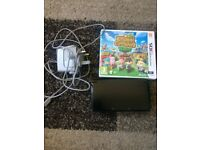 Good Condition Black Nintendo 3DS + Game