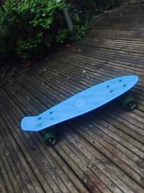 Blue retro Pure skateboard